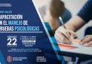 Taller: Capacitación en el manejo de pruebas psicológicas