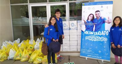 Acción solidaria del Voluntariado Mariateguino