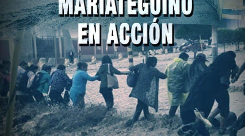 Voluntariado Mariateguino en acción, por nuestros hermanos sameguanos